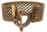 Stephen Dweck Bronze Mesh Bracelet