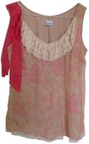 Valentino Pink Silk Top