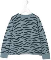 Stella McCartney Blue Denim Violetta Denim Embroidery Top, Women's, Size 11-12
