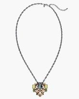 Chico's Sage Long Pendant Necklace
