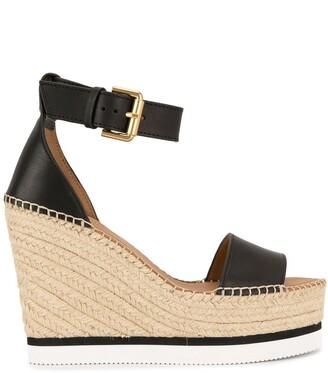 See by Chloe Woven Wedge Heel Sandals