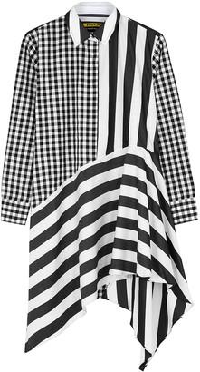 Marques Almeida Panelled Asymmetric Cotton Shirt Dress