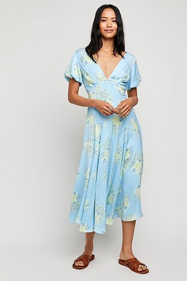 Free People Laura Printed Maxi