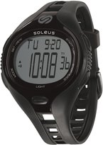 Soleus Men's SR018-001 Dash Large Digital Display Quartz Black Watch