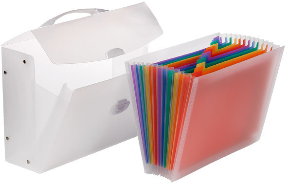 Container Store Expanding File Carrier
