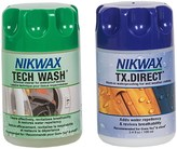 Nikwax Mini Hard Shell Outerwear Cleaner and Waterproofing Duo Pack - 3.4 fl.oz. Each