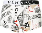 Versace Bauhaus print boxer briefs
