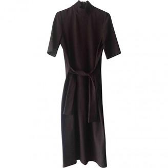 Mila Louise Black Cotton - elasthane Dress for Women