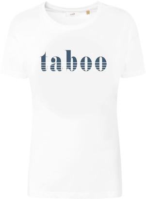 Fanclub Taboo Retro Slogan T-Shirt