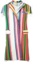 Sacai striped coat