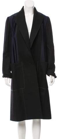 Edun Longline Wool Coat