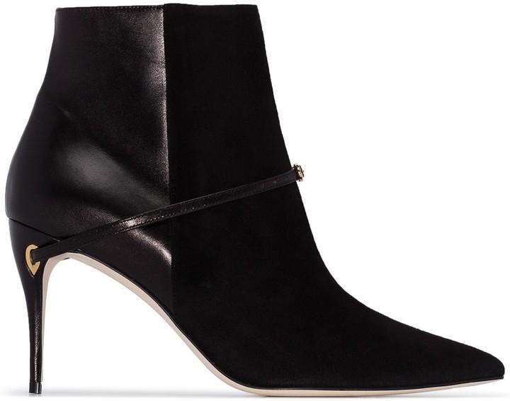 Jennifer Chamandi Nicolo 85mm ankle boots