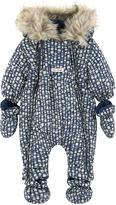 Jean Bourget Fleece-lined padded jumpsuit