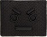 Fendi Black Python Faces Card Holder