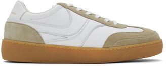 Dries Van Noten White Leather Sneakers