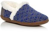 Toms Fair Isle Faux Fur Slippers