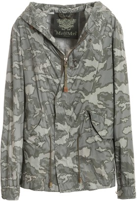 Mr & Mrs Italy Soft Nylon Camou Printed Mini Parka