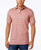 Tasso Elba Men's Big and Tall Performance Sun Protection Polo, Only at Macy's