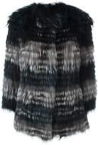 Yves Salomon fox fur jacket