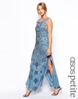 Asos Exclusive Mirror Embellished Midi Dress
