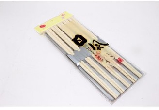 JuJu Smiling XXXXX 10 pairs of White Melamine resin Chopsticks Set
