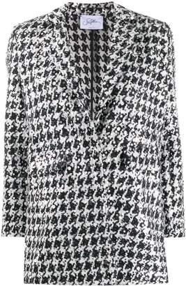 Soallure SO ALLURE sequin-embellished tweed blazer