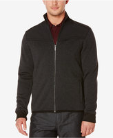 Perry Ellis Men's Multi-Textured Zip-Front Jacket