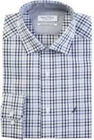 Nautica Classic Fit Wrinkle Resistant Bijou Plaid Shirt