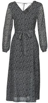 Ikks BQ30085-03 women's Long Dress in Black