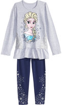 Disney Disney's Frozen 2-Pc. Graphic-Print Tunic & Leggings Set, Toddler Girls (2T-5T)