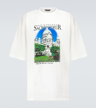 Balenciaga Sacre Coeur and Notre-Dame T-shirt