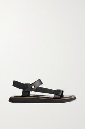 Rag & Bone Parker Leather Sandals - Black