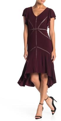 Taylor Short Flutter Sleeve Dress (Petite)