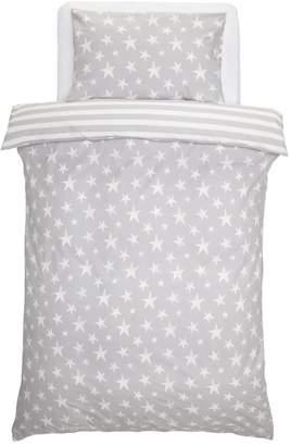 Star Bedding Argos Home Grey Set