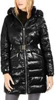 Michael Kors Michael Hooded Down Puffer Coat With Faux-Fur Trim
