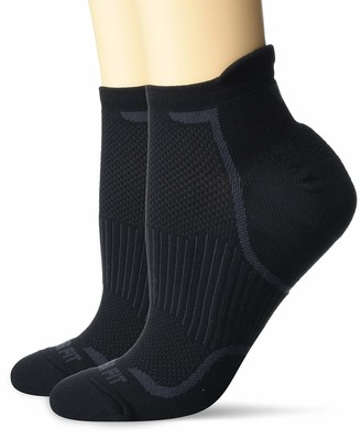 Copper Fit Energy Copper Infused Ankle Socks 2 Pack Large/X-Large