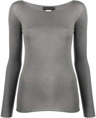 Fabiana Filippi ribbed sleeves jumper