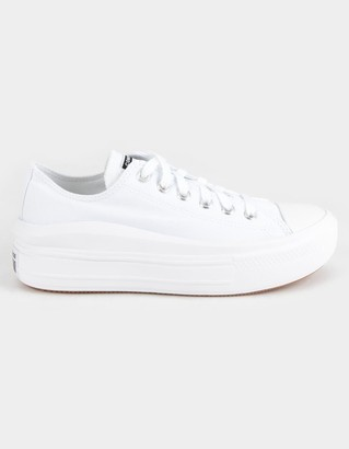 Converse Canvas Color Chuck Taylor All Star Move Low Top Womens Platform Shoes