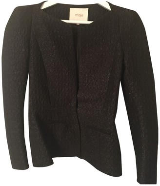 Maje Black Jacket for Women