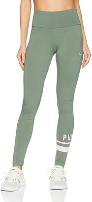 Puma Women's Athletic Logo Leggings Pants