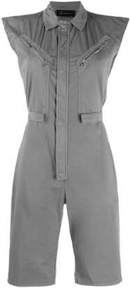Mr & Mrs Italy Short Jumpsuit For Woman In Popeline