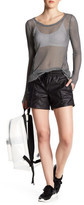 Koral Faux Leather Neptune Bermuda Short