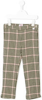 Il Gufo checked houndstooth leggings