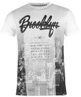 Fabric Brooklyn Skyline T Shirt Mens