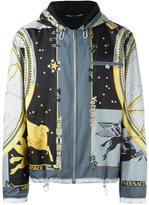 Versace 'Astrological' print windbreaker jacket