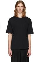 Issey Miyake Black Bio Cotton T-shirt