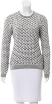 Opening Ceremony Shell Smocked Sweater
