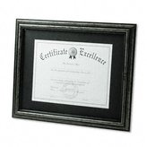 Dax Document Frame, Desk/Wall, Wood, 11 x 14, Antique Charcoal Brushed Finish -:- Sold as 2 Packs of - 1 - / - Total of 2 Each