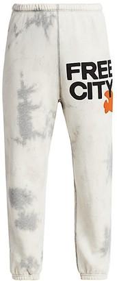 Freecity Super Bleachout Standard-Fit Sweatpants