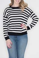 Cherish Contrast Stripe Top